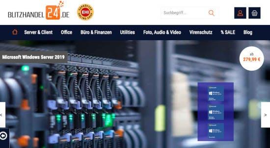 Blitzhandel24 – Software von Adobe, Microsoft, Kaspersky & Co