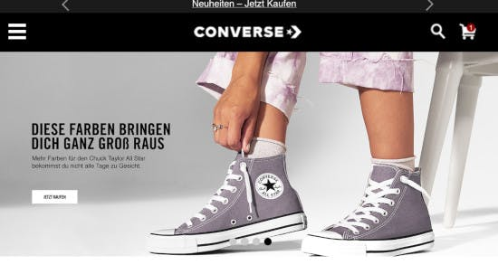 Gutschein Converse