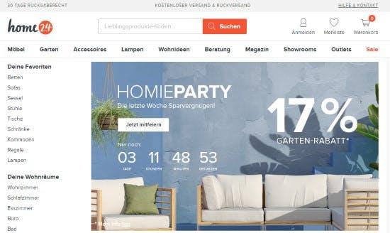 home24 Gutscheine → 3% → Dezember 2020 - Gutschein.de