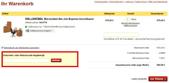 Gutscheine Office Discount